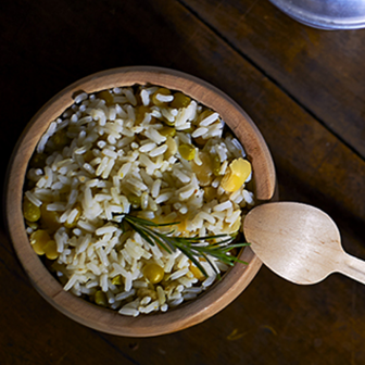 Minestra di riso, verdure e...