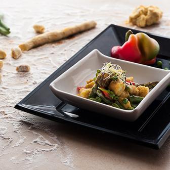 Gnocchi al curry con verdure dell'orto