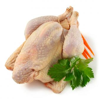 Pollo ruspante intero