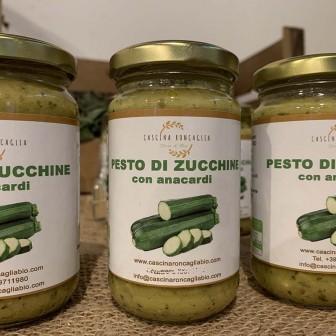 Pesto di zucchine e anacardi