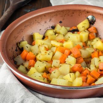 Misto di patate  e carote...