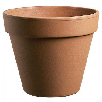 Vaso in terracotta diametro 22 cm